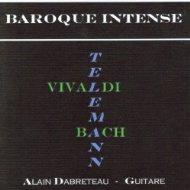 baroque intense - Boutique d'Alain Dabreteau - Alain Dabreteau guitariste